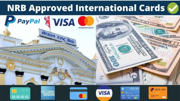NRB approved international card